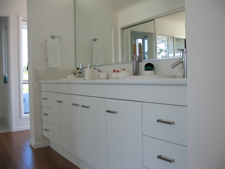 kitchen cabinet makers brisbane with Bathroom Vanities 16 on U Shape Kitchen Gallery as well Bathroom Vanities 16 also Kitchen Designs likewise pare Kitchen Cabi  Brands together with Brighten Your Day With Bold Kitchen Glass Splashbacks.