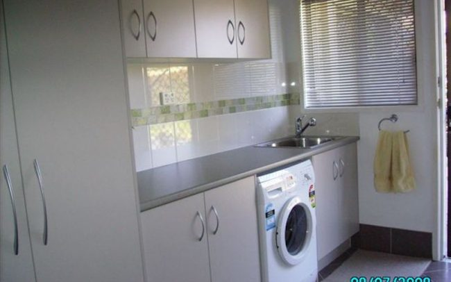 Laundry Cabinetry Maker Redlands6 650x406 - Laundry Cabinetry